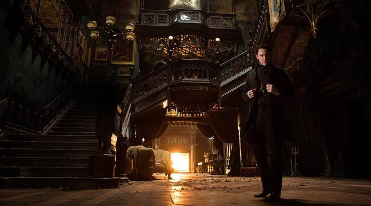 Crimson Peak movie review, Crimson Peak review, Crimson Peak, Crimson Peak movie, Crimson Peak film, Crimson Peak cast, Crimson Peak director, Crimson Peak Mia Wasikowska, Crimson Peak Jessica Chastain, Mia Wasikowska, Jessica Chastain, Tom Hiddleston, Charlie Hunnam, Guillermo del Toro