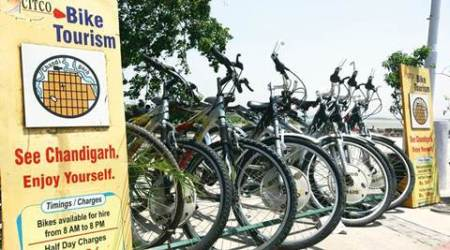 Soon, you can get a free cycle from varsity to Sukhna Lake