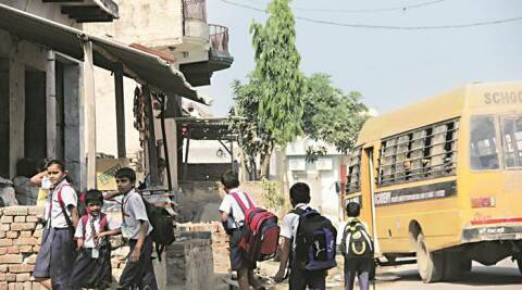 Bisara village: School reopens after Dadri lynching, Muslim students stay away