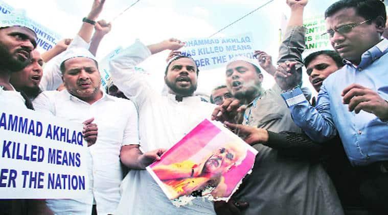 Dadri, Dadri lynching, Dadri lynching protest, protest against dadri lynching, Mohammad Akhlaq, Mohammad Akhlaq death, Narendra Modi, BJP, M M Kalburgi, Mohammad Akhlaq death protests, bisara, bisara protest,