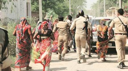 Dadri lynching: Women residents throw stones, chase media out of village