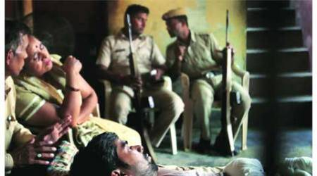 Burning of Dalit children : As police stand guard, Sunpedh limps back to normalcy