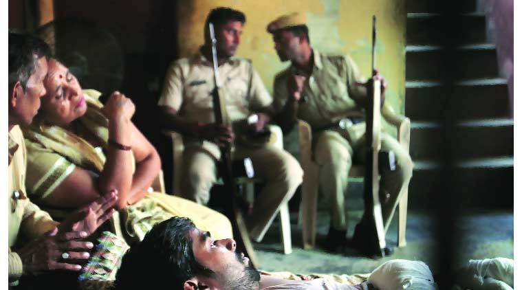 manohar lal khattar, dalit killing, khattar dalit killings, khattar faridabad killings, sunped dalits, dalit home on fire, dalit family fire, ballabhgarh, haryana, haryana news, dalit family, Arson attack, Dalits burnt alive, Dalit families, Rajput community Dalit community, Delhi news