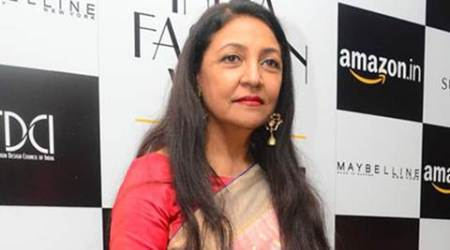 Deepti Naval catches the fashion week bug
