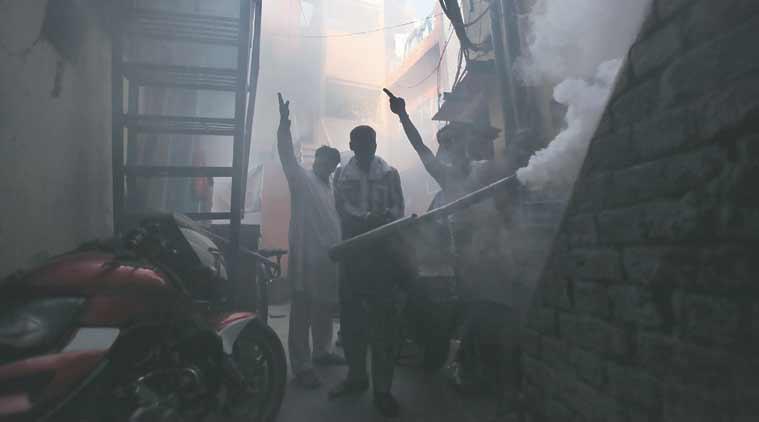 dengue, delhi dengue, dengue cases, dengue deaths, dengue fogging drive, Anti dengue fogging drive, CSE, CSE dengue drive, dengue latest news, delhi latest news