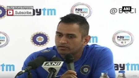 Captain Dhoni On Preparedness For South Africa T20