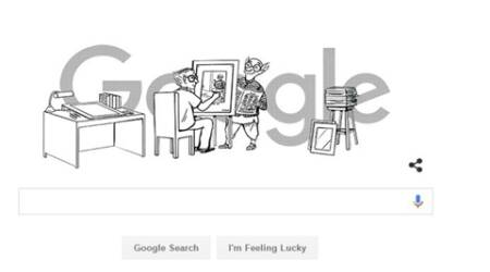 Google pays tribute to legendary cartoonist R K Laxman on his 94th birthday