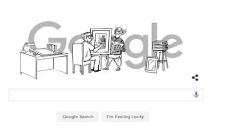 Google pays tribute to legendary cartoonist R K Laxman on his 94thbirthday