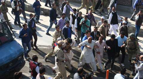 J&K: MLA Engineer Rashid's supporters detained during march to Assembly