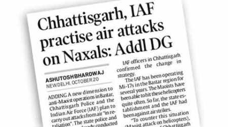 Simply put: Why raining fire on Maoist rebels could singe the statetoo