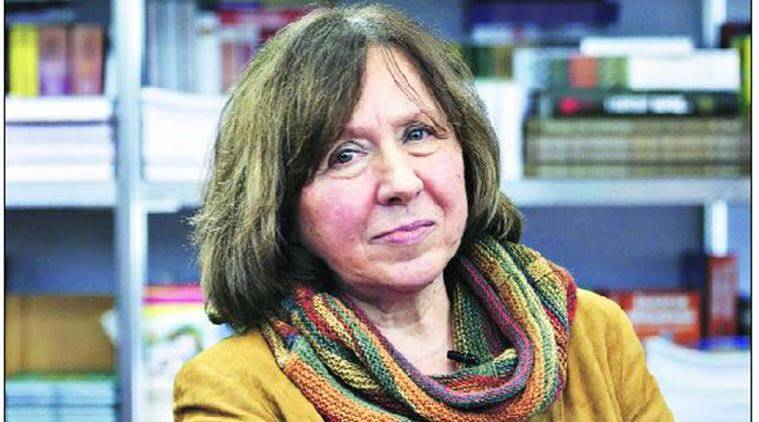 Alexievich's work includes a series of books called the Voices of Utopia about individuals in the former Soviet Union. Reuters