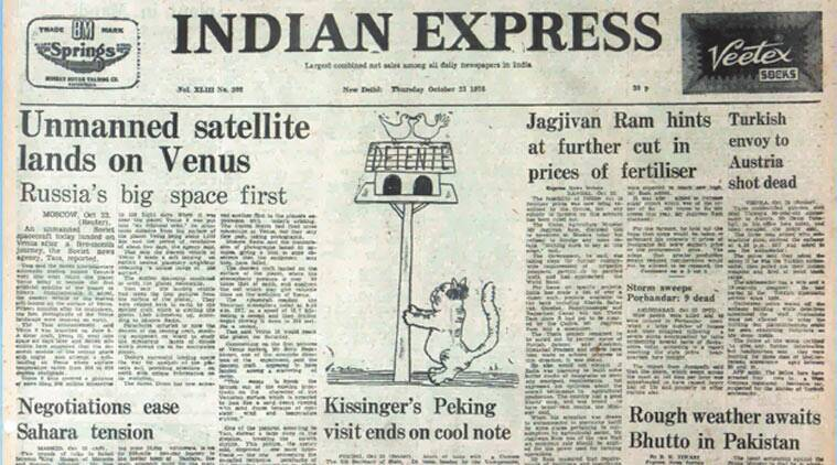 Soviet spacecraft, Venus, Arnold Toynbee, Mahatma Gandhi assassination, the indian express