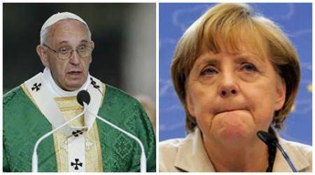 Pope Francis, Angela Merkel among contenders for Nobel Peace Prize to be announced Friday