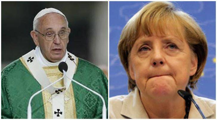 nobel peace prize, pope francis, angela merkel, pope francis peace prize, merkel peace prize, angela merkel nobel, pope francis nobel, nobel prize winners 2015, nobel peace prize 2015, nobel prize 2015