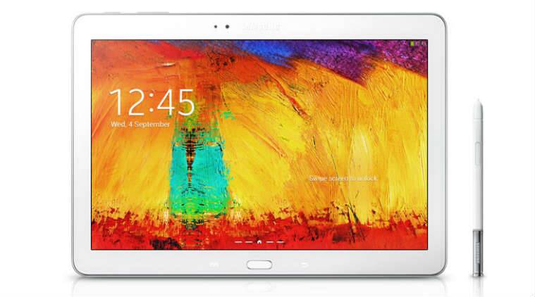 Samsung's Galaxy Note 10.1 tablet comes with an aspect ratio of 16:10 suitable for watching movies (Source: Samsung)