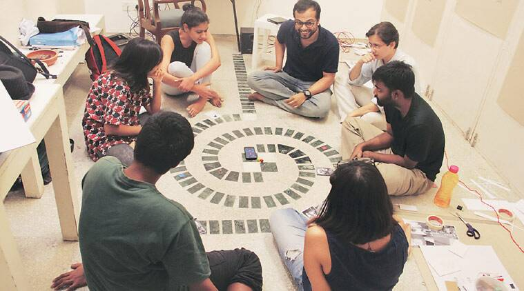 Krishnarjun Bhattacharya, gamers, Juliusz Zenkner, Khoj residency, exhibition, Syrian refugees, Of Games-III, Chinmayee Samant, Talk