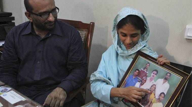 Geeta, a Hindu deaf-mute woman now in her early 20s, will depart for New Delhi, tomorrow early morning. Geeta was around 11 years old when she inadvertently crossed the border from India to Pakistan, and lost her family. (Source: AP)