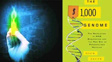 Book Review, The $1,000 Genome, Kevin Davies, Nature Genetics, Sai Baba, rationalists, ethical issues