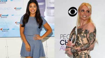 Gina Rodriguez gushes about working with Britney Spears