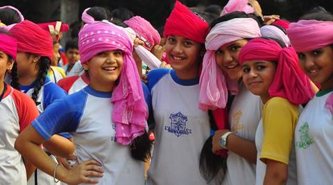 International Day of the Girl Child: Pink Turban campaign in Chandigarh to celebrate girl power