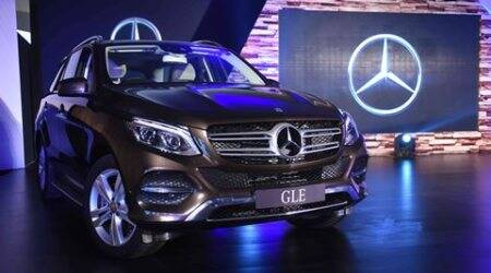 Mercedes-Benz GLE-Class launched at Rs 58.9 lakhplus