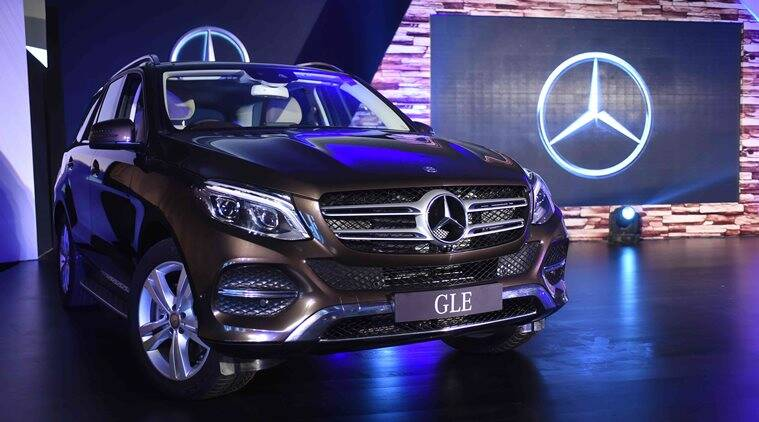 mercedes-benz gle-class launched at rs 58.9 lakh plus | auto