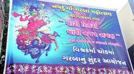 Godhra to bar Muslims, garba banners say: Daughter before my eyes