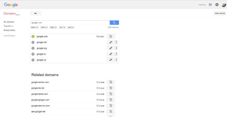 Google, Google domain for , Google domain purchased for , Google domain purchased by Sanmay Ved, Sanmay Ved, google news, tech news, gadget news, technology