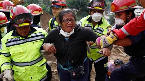 Guatemalan mudslide death toll rises to 69, hundreds missing