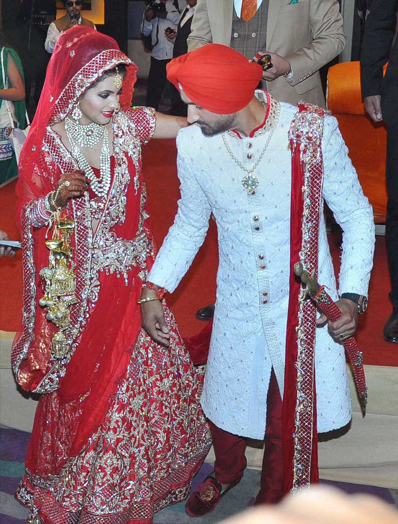 Harbhajan Singh, Geeta Basra, Geeta Basra wedding Harbhajan Singh