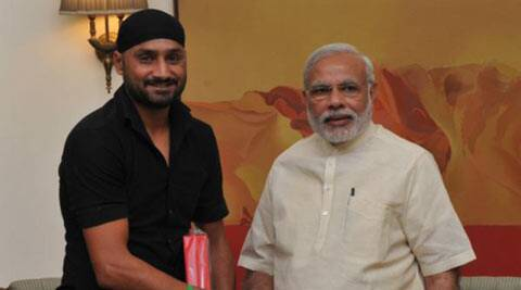 Harbhajan Singh meets Narendra Modi, invites PM for his marriage