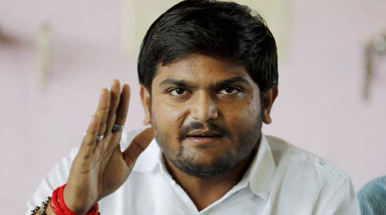 Hardik Patel, Sedition,