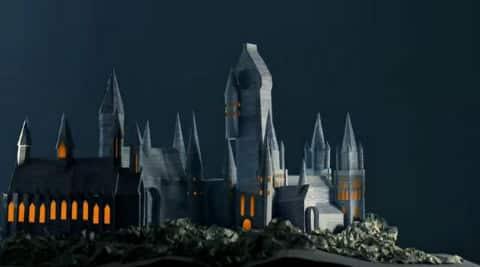Harry Potter fans create Hogwarts from the pages of 'Prisoner ofAzkaban'