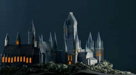 Harry Potter fans create Hogwarts from the pages of 'Prisoner of Azkaban'