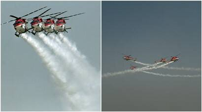 Indian Air Force shows muscle on 83rd anniversary