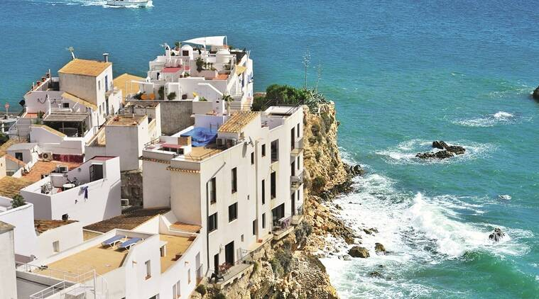 In Ibiza, the days are hot and humid and the nights, breezy