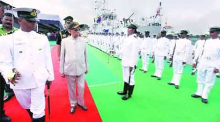 Sagarmala Project, Indian Coast Guard, coast guard india, Fast Patrol Vessel, new dast patrol vessel, Kesari Nath Tripathi, ICGS Anmol, Haldia, Kolkata news