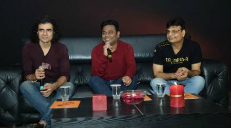 Tamasha's Imtiaz Ali, Irshad Kamil and A R Rahman get together for a baithak