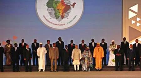India Africa Summit, African delegates, Jawaharlal Nehru, Mahatma Gandhi, African leaders speech, Egypt president, Abdel Fattah al-Sisi, nation news, india news