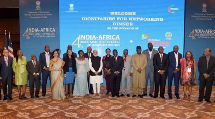 india africa summit, india africa partnership, india africa meeting, narendra modi, africa delegates, africa delegates new delhi, ministry of external affairs