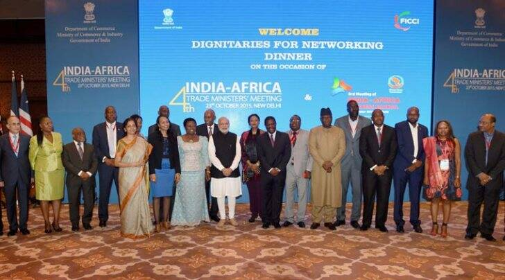 india africa summit, india africa partnership, india africa meeting, narendra modi, africa delegates, africa delegates new delhi, ministry of external affairs