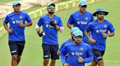India sweat it out at Eden Gardens