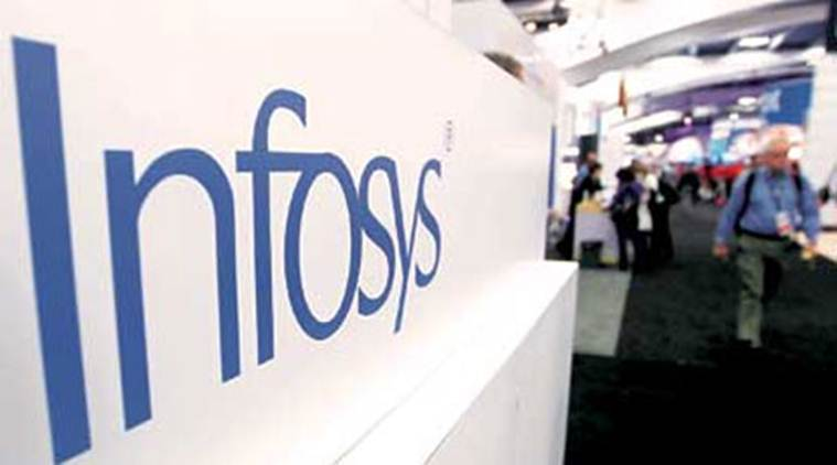 infosys, infosys profit, infosys net profit, net profit up, infosys india, infosys gains, infosys profit today, india news, business news, indian express