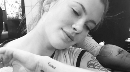 Ireland Baldwin gets tattoo in father Alec's honour
