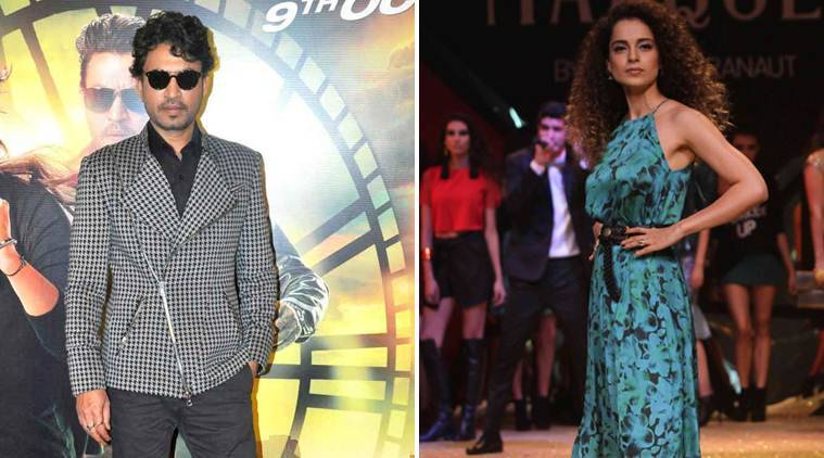 Irrfan Khan, Kangana Ranaut to work together in film on Begum Akhtar?