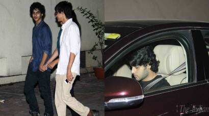 'Jazbaa' screening: Shahid Kapoor's brother Ishaan, Bhagyashree's son Abhimanyu watch Aishwarya Rai's film