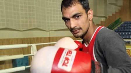 Jai Bhagwan, Jai Bhagwan bribe, Jai Bhagwan Boxer, Boxer Jai Bhagwan, Jai Bhagwan suspended, Delhi Commonwealth Games, indian express, sports news