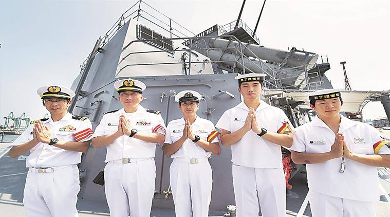 india, china, US, India Japan US naval exercise, INS Shivalik, JMSDF,  JS Fuyuzuki, India latest news