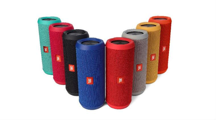 JBL portable speakers are splashproof and come in vibrant colour options with JBL Connect feature (Source: Harman)