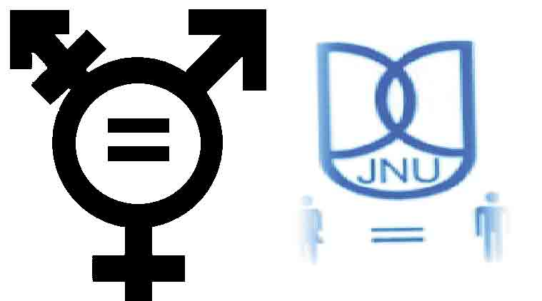 JNU, sexual harassment, sexual harassment panel, alternative gender logo, gender logo, JNU, GSCASH, multi gender logo, delhi news